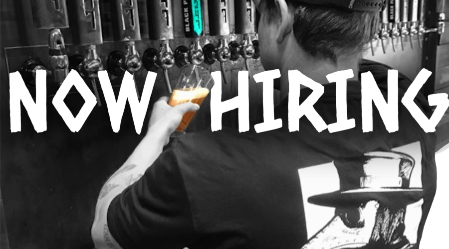 BLACK PLAGUE Hiring Taproom