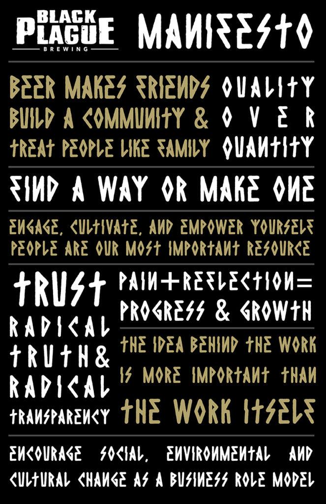 BLACK PLAGUE Manifesto